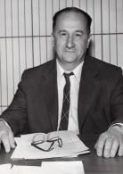 Professeur Jean Brossel Prix Des Trois Physiciens Spectroscopie Hertzienne Ancienne Photo 1975 - Famous People