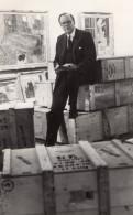 Historien De L'Art Humphrey Brooke Academie Royale Pierre Bonnard Ancienne Photo De Presse 1965 - Famous People