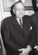 Alejo Carpentier Prix Mondial Cino Del Duca Ancienne Photo De Presse 1975 - Famous People