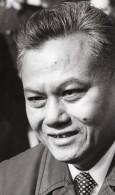 Kaysone Phomvihane Preimer Ministre Du Laos Ancienne Photo De Presse 1975 - Famous People