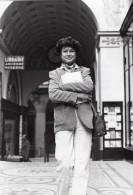 Paris Passages Galerie Vivienne Pascale Breugnot Ancienne Photo De Presse 1980 - Famous People