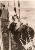 France? Bouee Phare Flottant Navigation Maritime Ancienne Photo 1930's - Boats