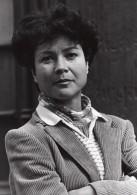 Portrait De Pascale Breugnot Emission Tele Paris Passages Ancienne Photo 1980 - Famous People