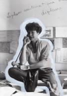 Portrait De Pascale Breugnot Emission Tele Antenne 2 Ancienne Photo 1983 - Famous People