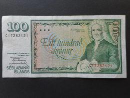 Iceland 100 Kronur 1981 - Islanda