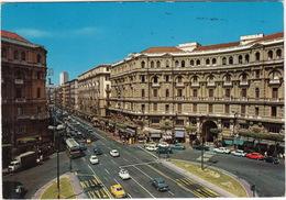 Napoli: ALFA ROMEO GIULIA, FIAT 850, 500, 127, 1500, OPEL KADETT-B, SIMCA 1100, CITROËN AMI 8 - Piazza Nicola Amore - Turismo