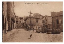 63 PUY DE DOME - DALLET Place De La Fontaine - France