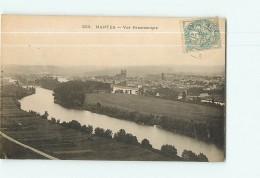 MANTES - Vue Panoramique - 2 Scans - Mantes La Ville