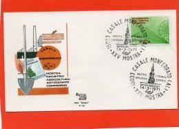 ITALIA 1971 - 25^ MOSTRA INDUSTRIA AGRICOLTURA ARTIGIANATO COMMERCIO DI CASALE MONFERRATO - TELESELEZIONE - Fabbriche E Imprese
