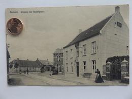 Hamont, Uitgang Der Budelpoort, Hamont, 1913 - Hamont-Achel