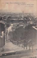 LIEGE / BAS DE LA MONTAGNE DE BUEREN  1912 - Luik