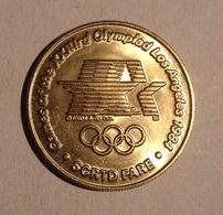 TOKEN JETON GETTONE STATI UNITI  TRANSIT USA OLIMPIAD LOS ANGELES 1984 - Monetari/ Di Necessità