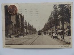 Amsterdam, Overtoom, Tram, Belebt, 1925 - Amsterdam