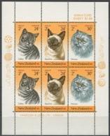 Nouvelle-Zelande New Zealand 1983 Yvertn° Bloc 48 *** MNH Cote 6 Euro Faune Chats Katten Cats - Blocs-feuillets