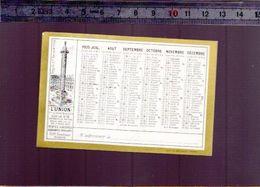 Calendrier - Petit Format - 1935 - Assurance L' Union - - Kalenders