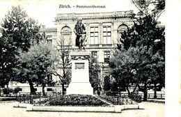 ZH Zürich - Pestalozzi - Denkmal - ZH Zurich