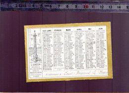 Calendrier - Petit Format - 1931 - Assurance L' Union - - Calendarios