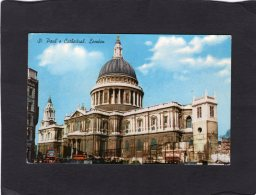 """75959    Regno  Unito,   St. Paul""""s  Cathedral,  London,  VG  1963 - St. Paul's Cathedral"""