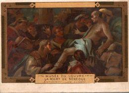 CHROMO MUSEE DU LOUVRE LA MORT DE CENEQUE - Chromos
