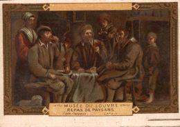 CHROMO MUSEE DU LOUVRE REPAS DE PAYSANS - Autres