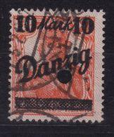 Danzig MiNr 46 II Gestempelt - Danzig