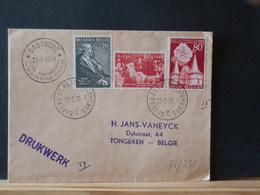 75/338  LETTRE 1955 IMPRIME - Belgium