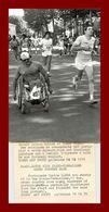 Sports *  Atlétisme * Paris Versailles * Carlos Lopez En 1979  ( Photographie AFP 13x18 ) - Sport