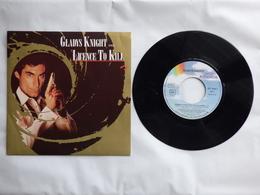 B.O.F  LICE3NCE TO KILL ( JAMES BOND ) LABEL  MCA 257-544-7  PAR GLADYS KNIGHT - Soundtracks, Film Music