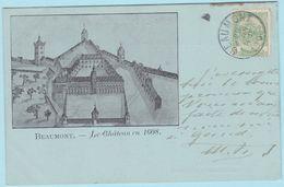 Beaumont : Le Château En 1608 - Beaumont