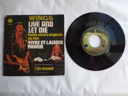 B.O.F  VIVRE ET LAISSER MOURIR   LABEL  APPLE C006-05631  PAR LES WINGS - Soundtracks, Film Music