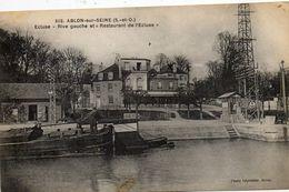 - ABLON Sur Seine - L'écluse Et Restaurant De L'écluse  -8682- - Ablon Sur Seine