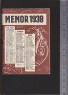 Calendrier - Petit Format - 1938 - Apéritif Campari - Agenda 48 Pages - Calendarios