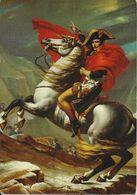 BONAPARTE Gravissant Le Saint Bernard (Jacques Louis David 1748-1825) - Personnages