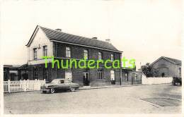 CPA SCHELDEWINDEKE STATIE STATION GARE - Oosterzele