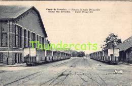 CPA  CAMP DE BEVERLOO STATION DE TRAIN DECAUVILLE KAMP STATIE TREIN - Leopoldsburg (Camp De Beverloo)