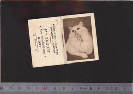 Calendrier - Almanach - 1940 - Chat - Magasin Baudet Niort - Small : 1921-40