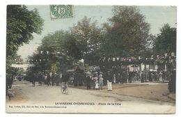 CPA - LA VARENNE CHENNEVIERES - PLACE DE LA FETE - Val De Marne 94 - Animée Colorisée - Chennevieres Sur Marne