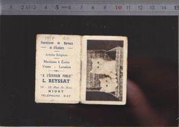 Calendrier - Almanach - 1937 - Chat - Magasin A L'écrivain Public Niort - Calendarios