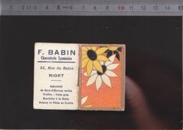 Calendrier - Almanach - 1938 - Chat - Magasin Charcuterie Babin à  Niort - Kalenders