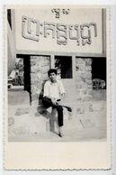 CPSM Cambodge Asie Type Ethnic écrite Carte Photo - Cambodge