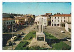 MONTEBELLUNA:  PIAZZA  GARIBALDI  E  CORSO  MAZZINI  -  FG - Treviso