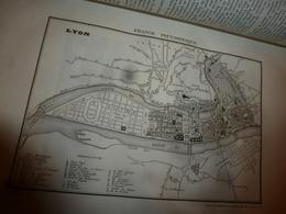 1935 RHÔNE -Lyon  (Histoire Naturelle-Anciens Usages-Costumes-Villes Et Châteaux-Population-Industrie Et Commerces -etc) - Books, Magazines, Comics