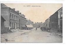 CARTE POSTALE 59 ANOR AVENUE DE LA GARE VOYAGEE - Francia