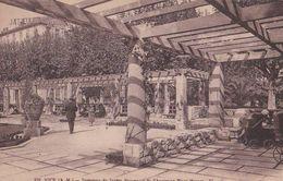 NICE Intérieur Du Jardin PROVENCAL De L'ancienne Place MOZART. - Parcs Et Jardins