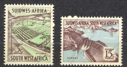 Sud Ouest Africain, SWA, Yvert 271&272, Scott 294&277, SG192&182, MNH - Zuidwest-Afrika (1923-1990)