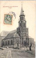 08 BEAUMONT En Argonne : L'église - Sonstige Gemeinden
