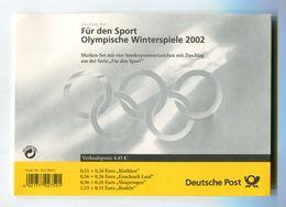 SPORTS BRD 2002 OLYMPISCHE WINTERSPIELE SALT LAKE CITY FUR DEN SPORT Mi#2237-40 - Winter 2002: Salt Lake City