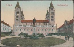 Székesegyház, Pécs, Magyarország, C.1910 - BJ Levelezőlap - Hungary