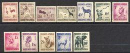 Sud Ouest,africain, SWA, Yvert 237/248, Scott 249/260, SG154/165, MNH - Zuidwest-Afrika (1923-1990)