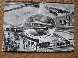 AEROPORT  / FLUGHAFEN / AIRPORT   GATWICK    DC 3 BEA - Aérodromes
